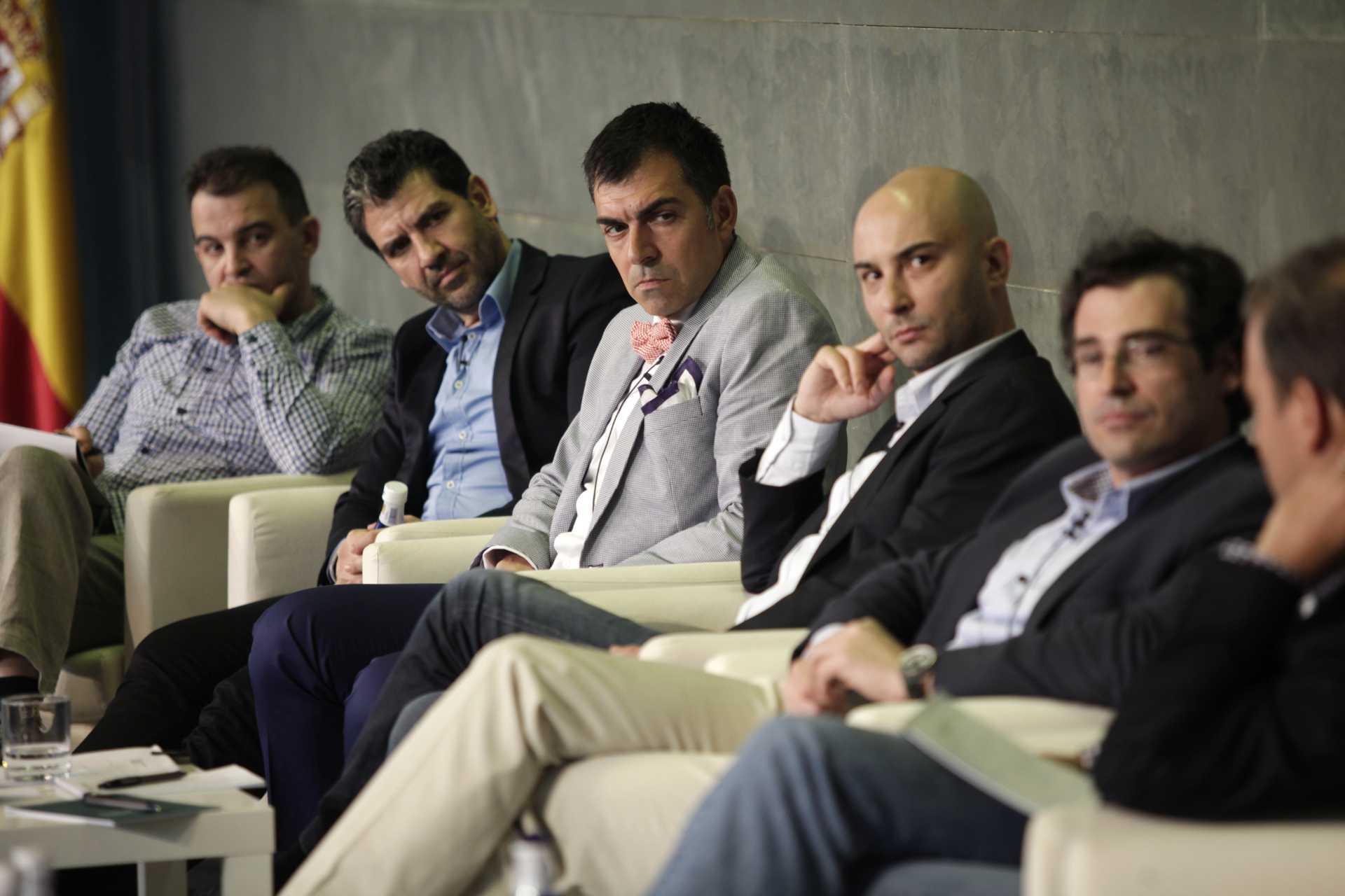 La Fundación Rafael del Pino celebra el 5º encuentro START UP SPAIN en su auditorio, e Madrid el 18 de Abril de 2013.