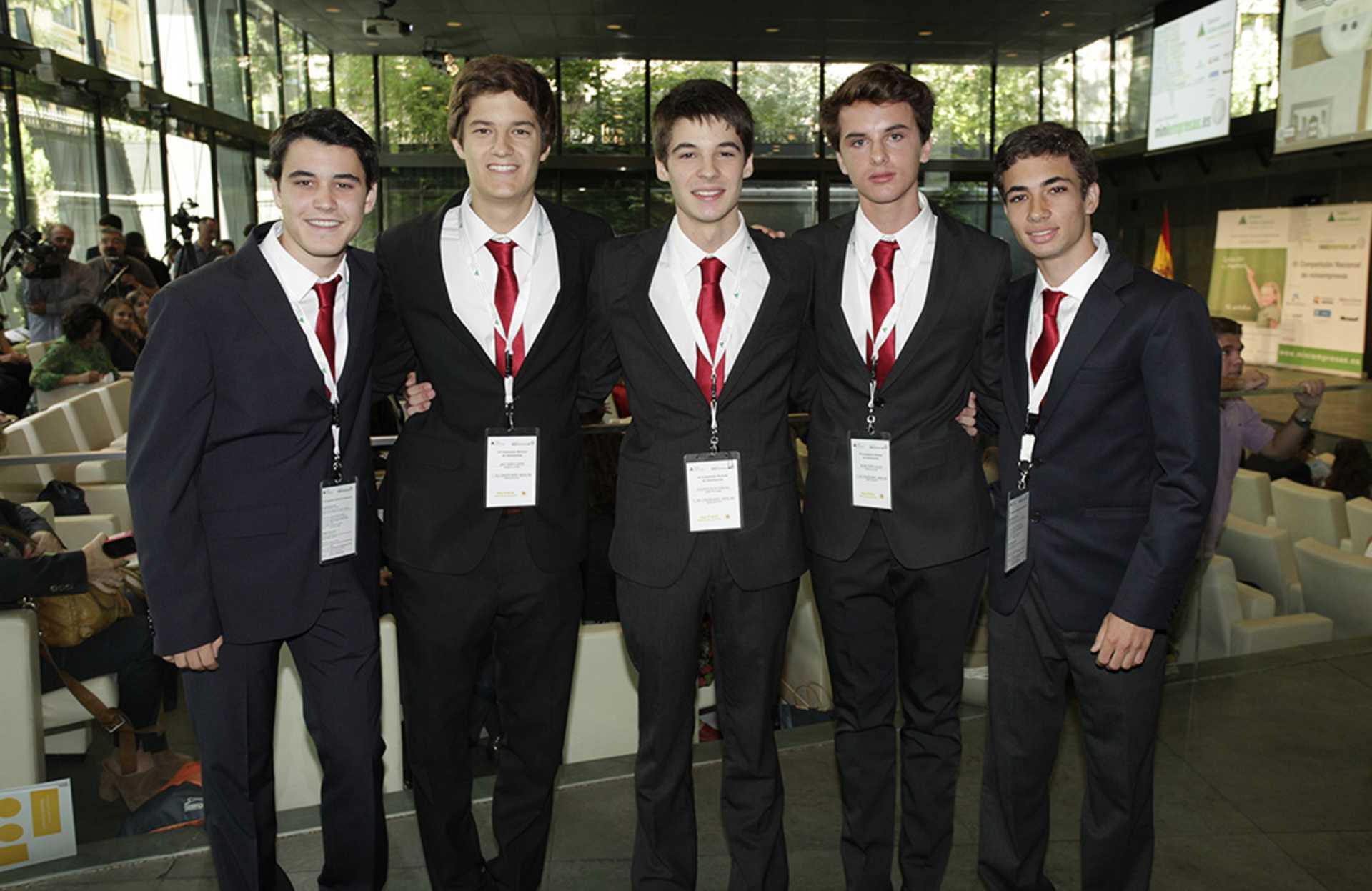 La Fundación Rafael del Pino organiza VII Competición Nacional de Miniempresas el 21 de junio de 2013 en su auditorio en Madrid.