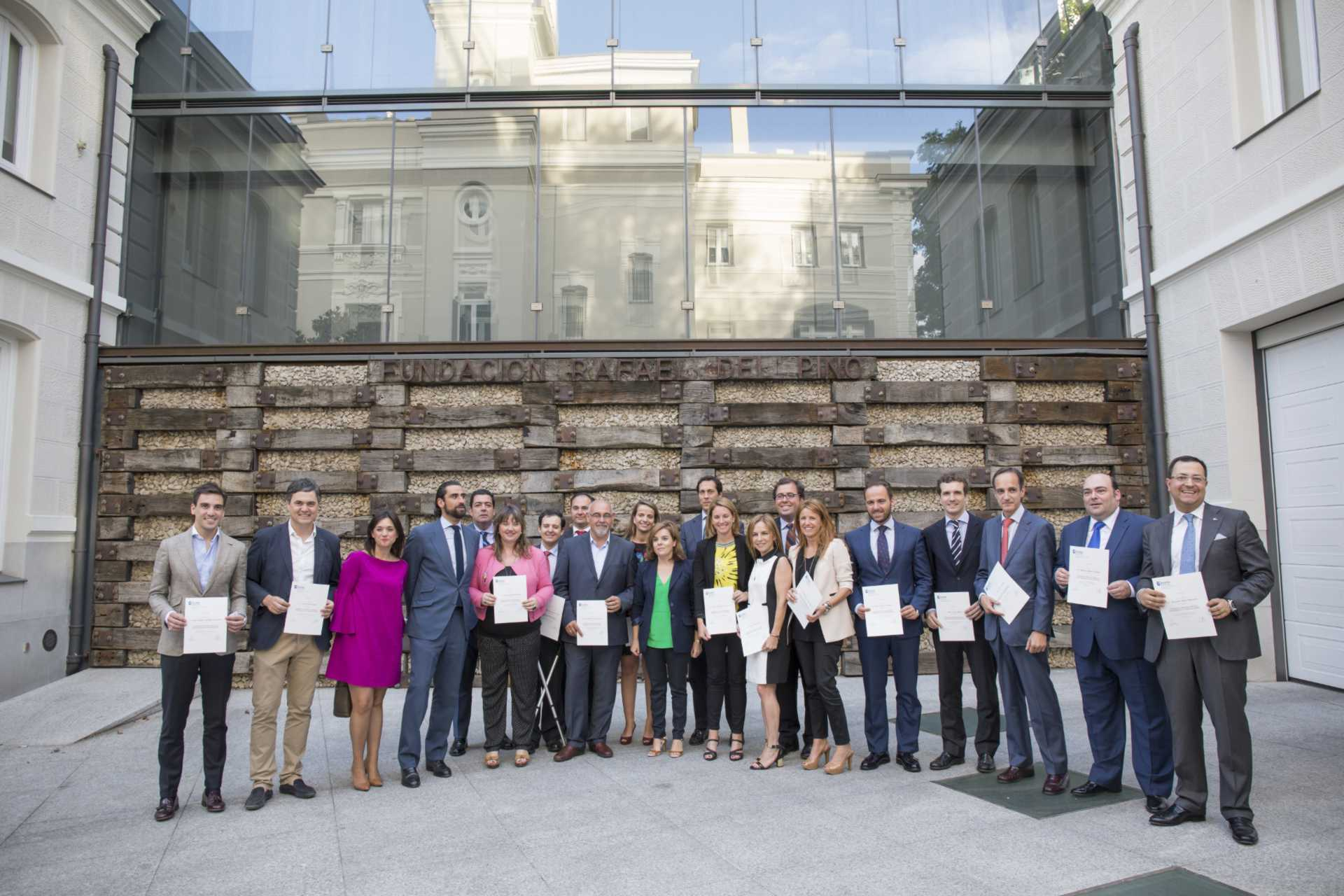 La Fundación Rafael del Pino junto a la universidad de Deusto organizan el Programa de Liderazgo Público Emprendimiento e Innovación (PLPE) en Madrid el 01 de julio de 2014. DSG