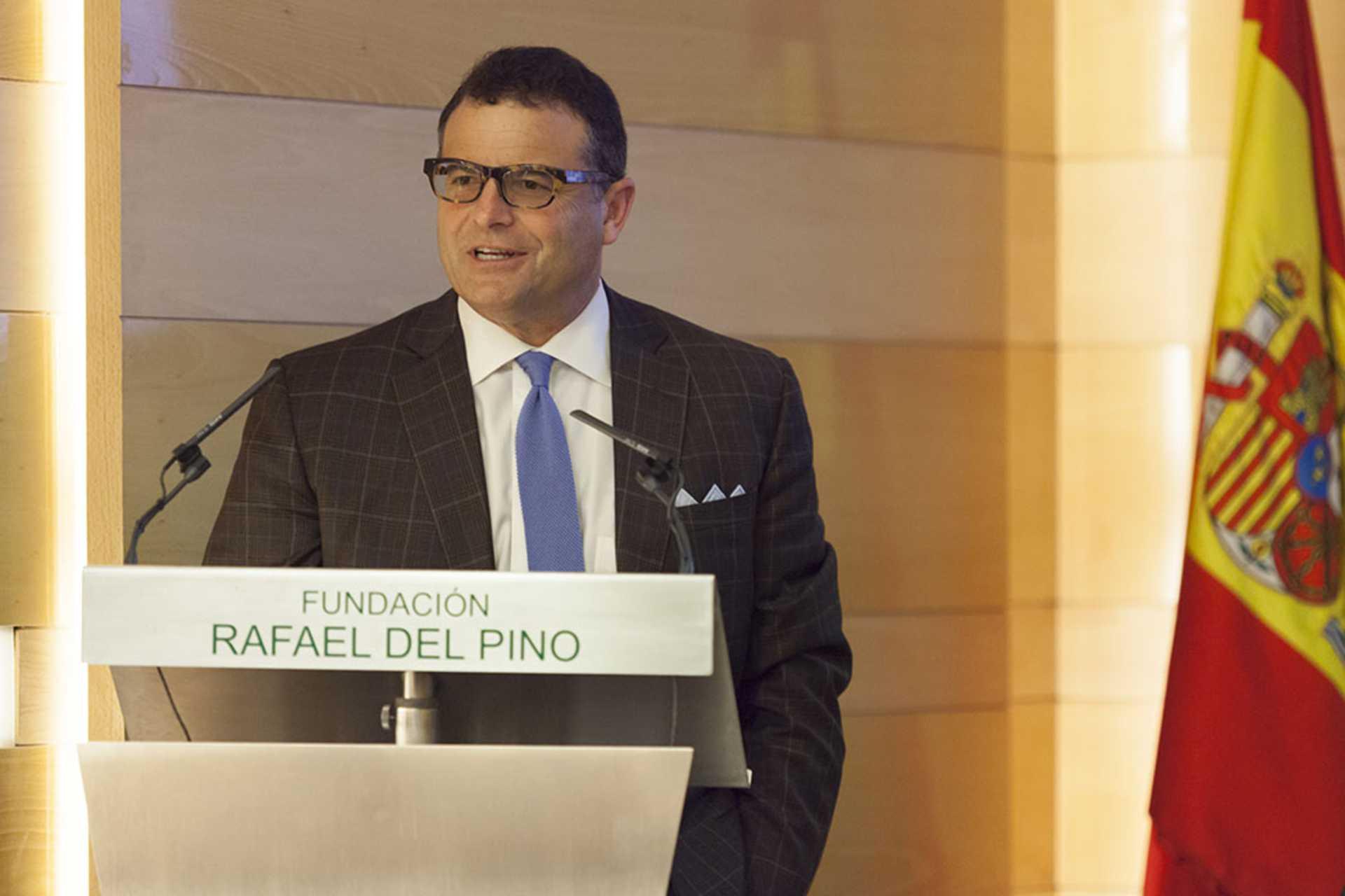 """La Fundación Rafael del Pino organiza  la Conferencia Magistral de George Selgin titulada """"Un siglo de fracasos: los primeros 100 años de la Reserva Federal americana"""". Madrid 02 de octubre de 2013."""
