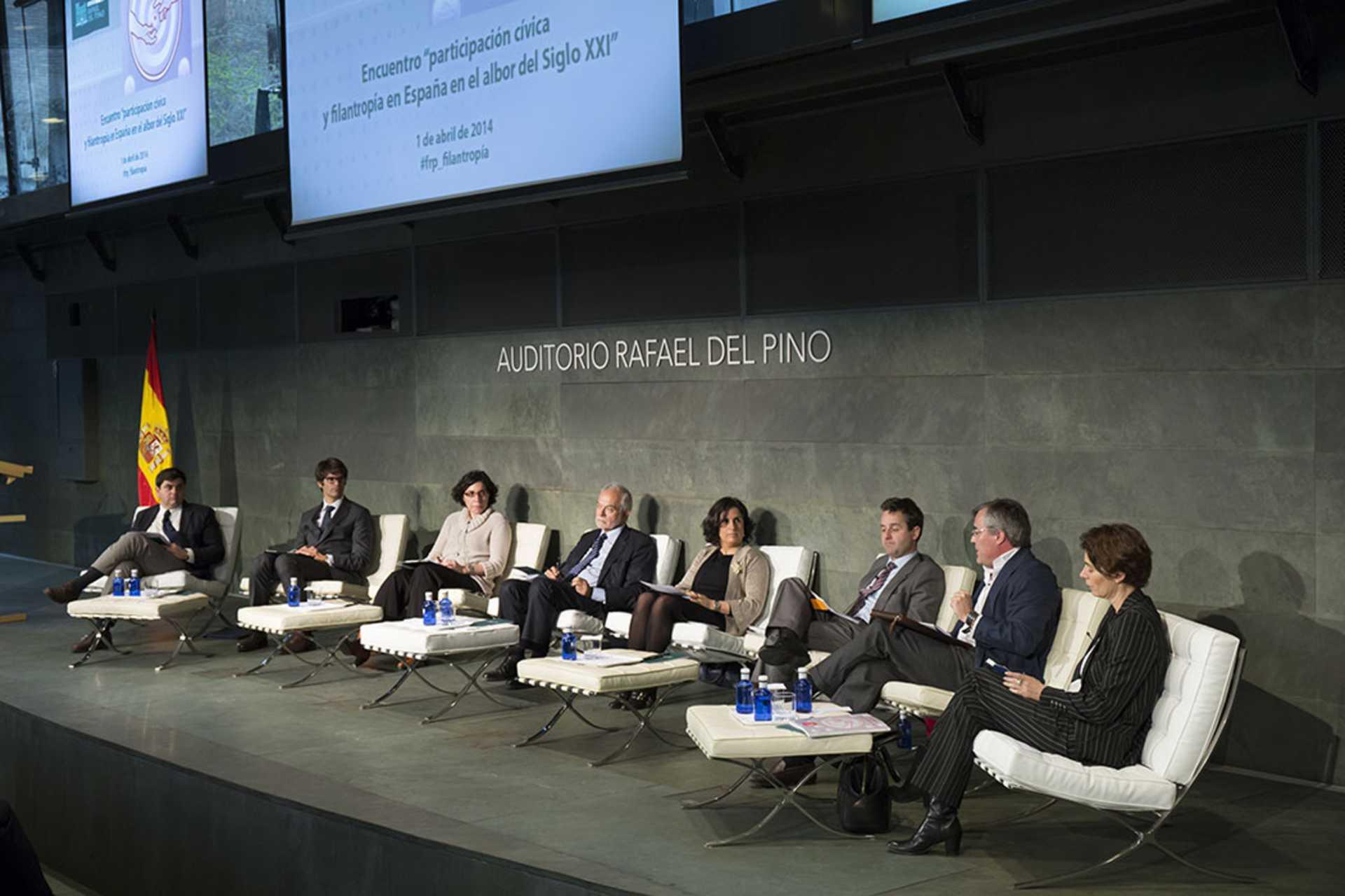 """La Fundación Rafael del Pino organiza el encuentro """"Participación cívica y filantropía"""" con el objetivo de debatir sobre los retos del sector no lucrativo en el albor del Siglo XXI."""