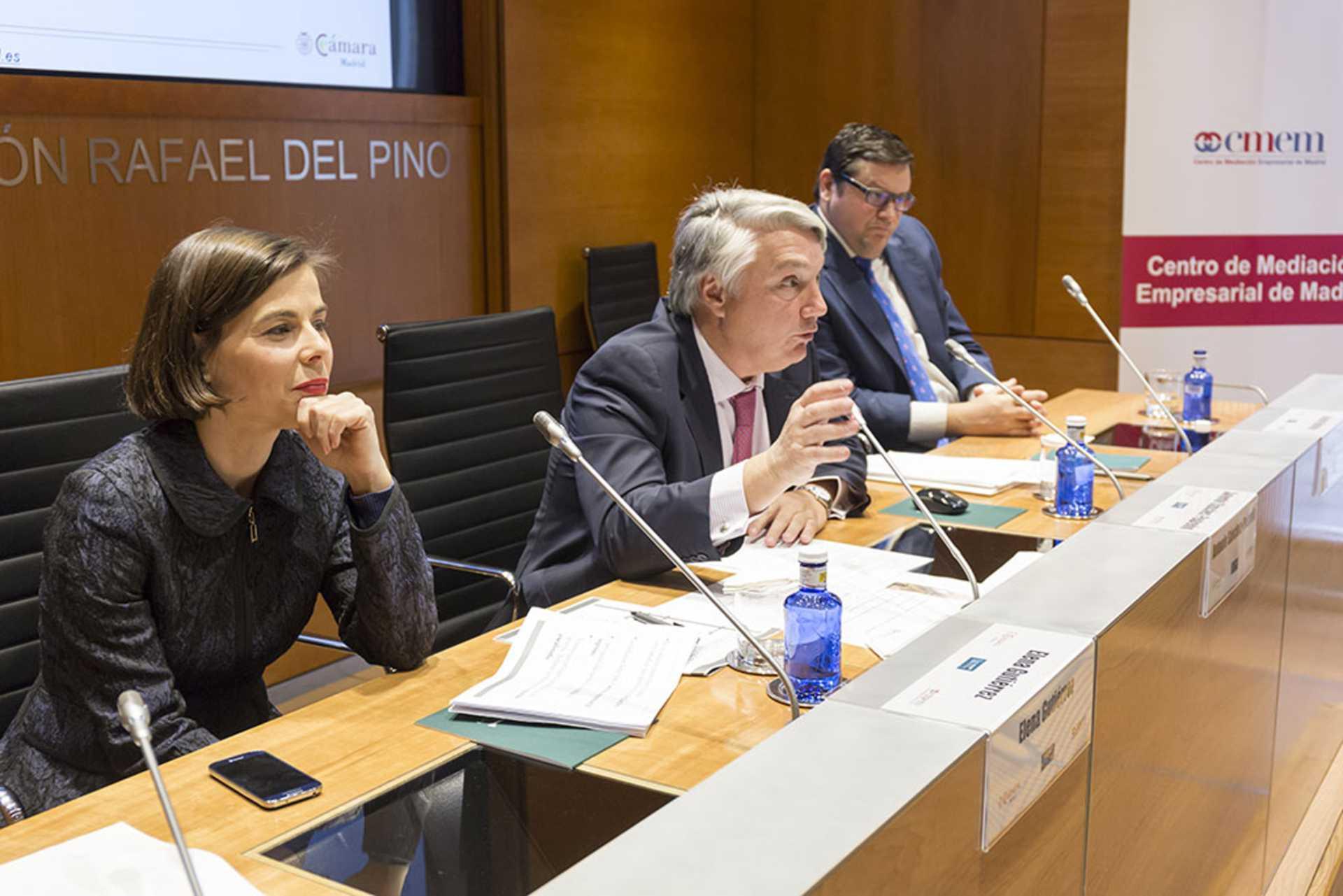 La Fundación Rafael del Pino, la Cámara Oficial de Comercio, Industria y Servicios de Madrid y el Centro de Mediación Empresarial de Madrid,celebran  acto de presentación del CENTRO DE MEDIACIÓN EMPRESARIAL DE MADRID.