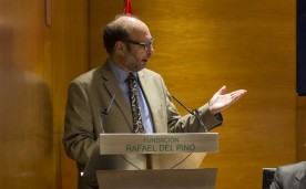 "La Fundación Rafael del Pino organiza la Conferencia Magistral ""Entrepreneurship and the Strategic Management of Place"" impartida por David B. Audretsch. En Madrid el 18 de noviembre de 2015. DS"
