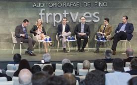 La Fundación Rafael del Pino y el Instituto Juan de Mariana organizan el encuentro titulado Free Market Road Show Madrid 2016. En el Auditorio Rafael del Pino en Madrid, 9 de marzo de 2016.