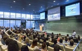 La Fundación Rafael del Pino colabora con Pangea en la organización del evento The 2015 Starting Point. Se trata de crear un lugar de encuentro único en el que jóvenes con talento puedan demostrar su excepcional motivación y potencial. En Madrid el 28 de enero de 2015. DS