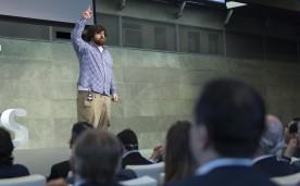 """La Fundación Rafael del Pino y la Singularity University organizan,la conferencia """"Innovación Disruptiva"""" con Thomas Kriese, Vicepresidente de Singularity University, Community Development & Engagement."""