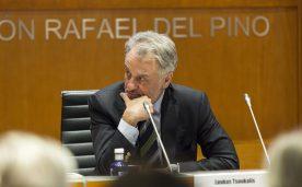 """La Fundación Rafael del Pino organiza la conferencia magistral """"En defensa de Europa, ¿tiene salvación el proyecto Europeo?"""" de Loukas Tsoukalis. En Madrid el 16 de junio de 2016. DS"""