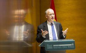 """La Fundación Rafael del Pino celebra la conferencia magistral de David Armitage """"Tiempo, espacio y futuro del pasado; los horizontes de la Historia. Madrid 15 de septiembre de 2016."""