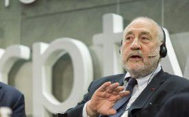 """La Fundación Raael del Pino celebra la conferencia magistra de Joseph E. Stiglitz """"El Euro. Cómo la moneda común amenaza el futuro de Europa"""", en Madrid el 05 de octubre de 2016."""